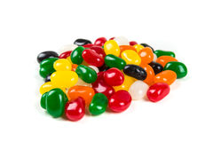 Multicolored jelly beans Royalty Free Stock Photography