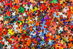 Multicolored Jigsaw Puzzle Royalty Free Stock Photos