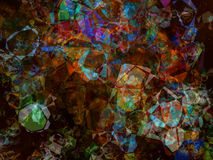 Multicolored kaleidoscope abstract background. Stock Photos