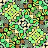 Multicolored kaleidoscope seamless texture royalty free illustration