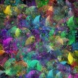 Multicolored klatergoud royalty-vrije stock afbeelding