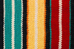 Multicolored knitting background Royalty Free Stock Photos