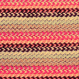Multicolored knitting horizontal striped background Stock Images