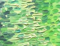 Multicolored large and rough horizontal brush strokes. Oil paint. Multicolored large and rough horizontal brush strokes. A warm range of evening sky at sunset Stock Image