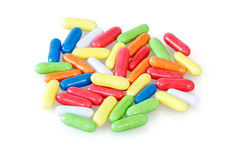Multicolored Licorice Royalty Free Stock Image