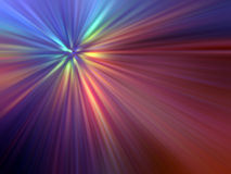 Multicolored Light Rays Royalty Free Stock Image