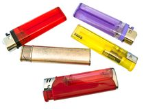 Free Multicolored Lighters Stock Photo - 5671410