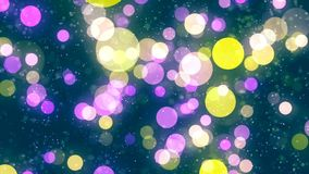 Multicolored lights with bokeh. Abstract background. Abstract Background with nice multicolor bokeh Royalty Free Illustration