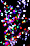 Multicolored lights bokeh background. Stock Image