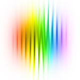 Multicolored linear abstraction Royalty Free Stock Photo