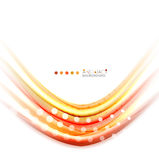 Multicolored lines on white, motion concept abstract background Royalty Free Stock Photography