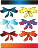 Multicolored linten Royalty-vrije Stock Afbeeldingen