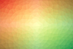 Multicolored low polly backgounds Royalty Free Stock Photography