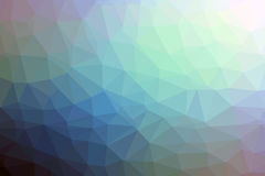 Multicolored low polly backgounds Royalty Free Stock Photo