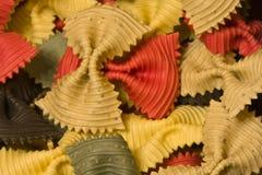Multicolored macaroni Stock Photos