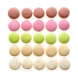 Multicolored Macarons Stock Image