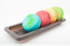 Multicolored macarons Royalty Free Stock Photo