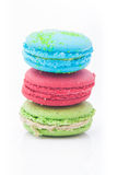 Multicolored macarons Royalty Free Stock Photography