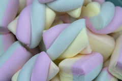 Multicolored marshmallows, background. Sweet candy Royalty Free Stock Photography