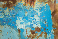 Multicolored metal surface Stock Photography