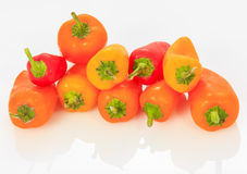Multicolored Mini Sweet Bell pepper Royalty Free Stock Photo
