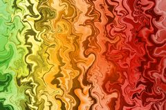 Multicolored mixed lines, light abstract background stock illustration