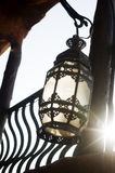 Multicolored moroccan lamp Royalty Free Stock Image