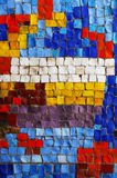 Multicolored mosaic Stock Photo