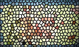 Multicolored mosaic abstract background Stock Photo