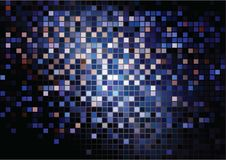 Multicolored mosaic background Stock Photography
