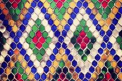 Multicolored Mosaic Photo Royalty Free Stock Image