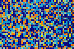 Multicolored mosaic tile Stock Photo