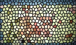 Multicolored mozaïek abstracte achtergrond Stock Foto