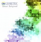 Multicolored mozaïekachtergrond Stock Fotografie