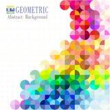 Multicolored mozaïekachtergrond Royalty-vrije Stock Fotografie