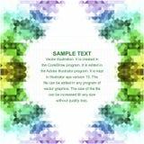 Multicolored mozaïekachtergrond Royalty-vrije Stock Foto's