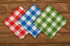 Multicolored napkin Royalty Free Stock Image