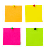 Multicolored notes Royalty Free Stock Photo