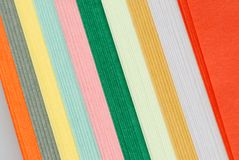 Multicolored notes paper backgrounds Royalty Free Stock Photography