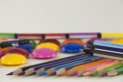 Multicolored Office Stock Images