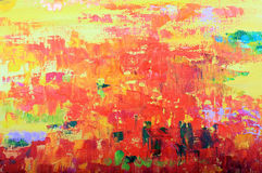 Multicolored oil painted texture background Royalty Free Stock Images