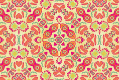 Multicolored Ornament Swirls Royalty Free Stock Images