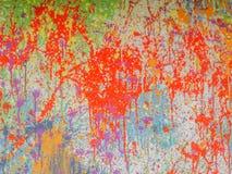 Multicolored paint splash background Royalty Free Stock Photography