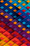 Multicolored Painted Metal Background Royalty Free Stock Image