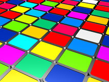 Multicolored paints Royalty Free Stock Image