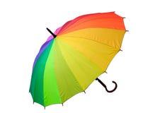 Multicolored paraplu Stock Afbeelding