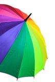 Multicolored paraplu Stock Foto