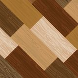 Multicolored parquet board Royalty Free Stock Photo