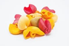 Multicolored pasta Stock Image
