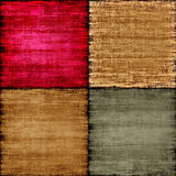 Multicolored patch texture as abstract background. Royalty Free Stock Photos